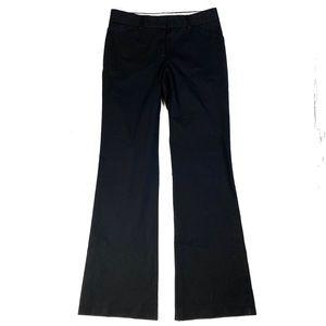 Theory Black Stretch Flare Leg Trouser